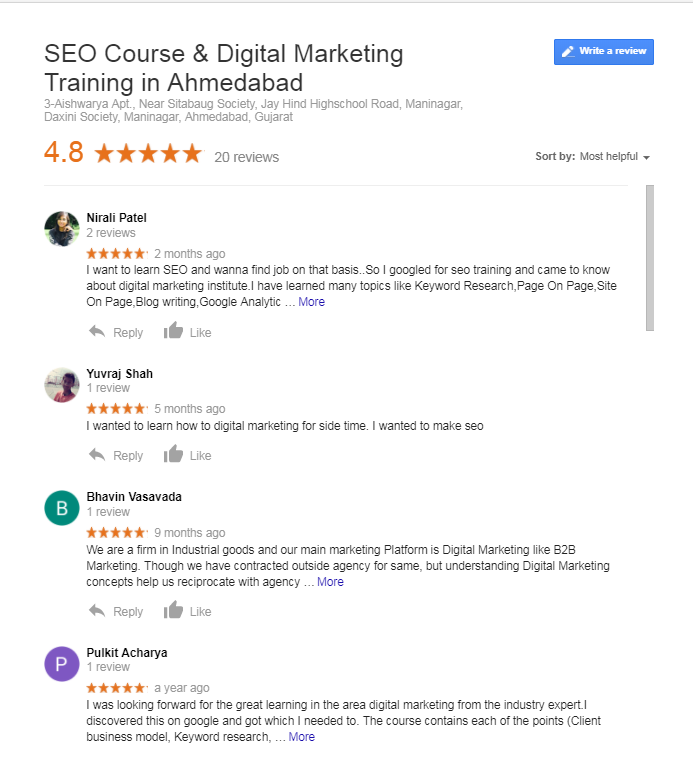 Why Digital Marketing Training Institute Is Best In Ahmedabad